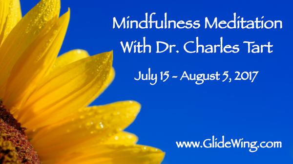 GlideWing.com features Charles T. Tart Mindfulness Workshop 2017